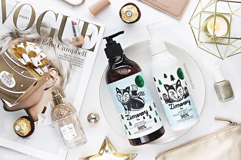 zestaw kosmetyków yope zimowy las blog
