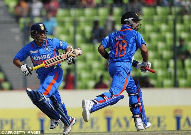 Virat Kohli says Sachin Tendulkar is the reason he started playing