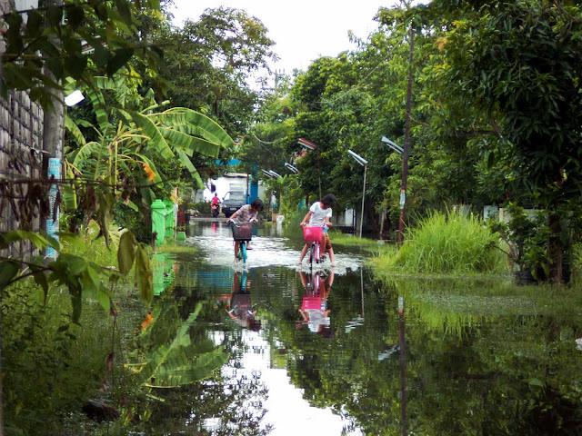 Banjir Sidodadi,taman-Sidoarjo Jawa timur