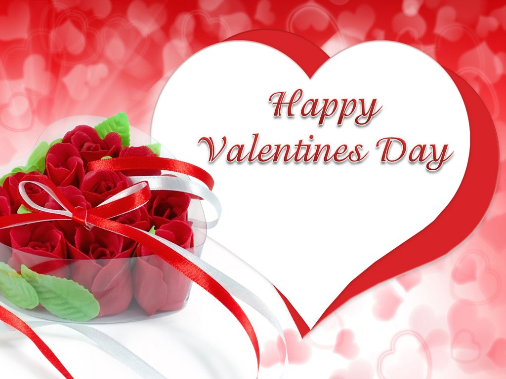 One Hundred Wallpaper: Happy Valentines Day HD Wallpaper