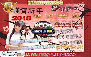 Prediksi Togel Online Singapore Tanggal 24 Januari 2018 Rabu