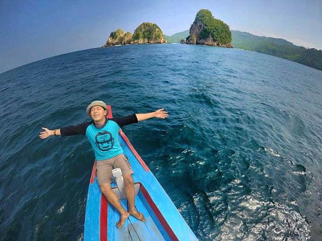 Lokasi, Cara dan Rute Perjalanan ke Pulau Wayang Lampung