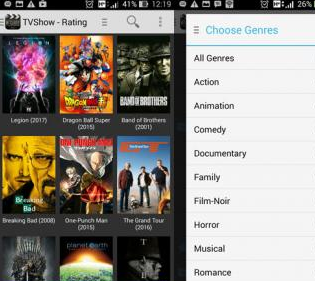 Android Movie App