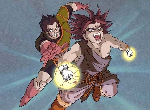 DRAGON BALL Z WALLPAPERS: Normal Broly