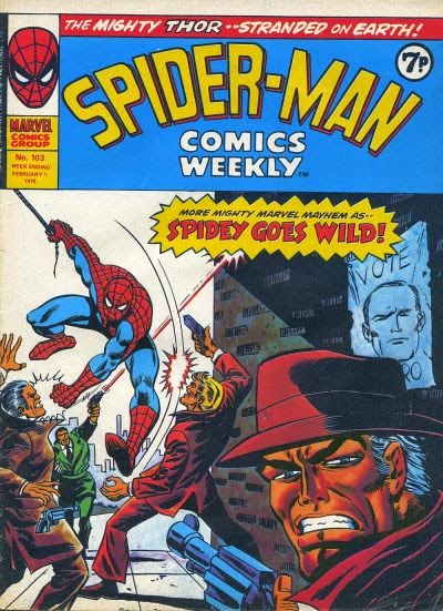 Spider-Man Comics Weekly #103