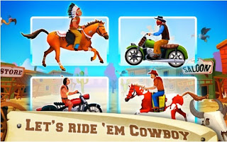 Game Wild West Race App