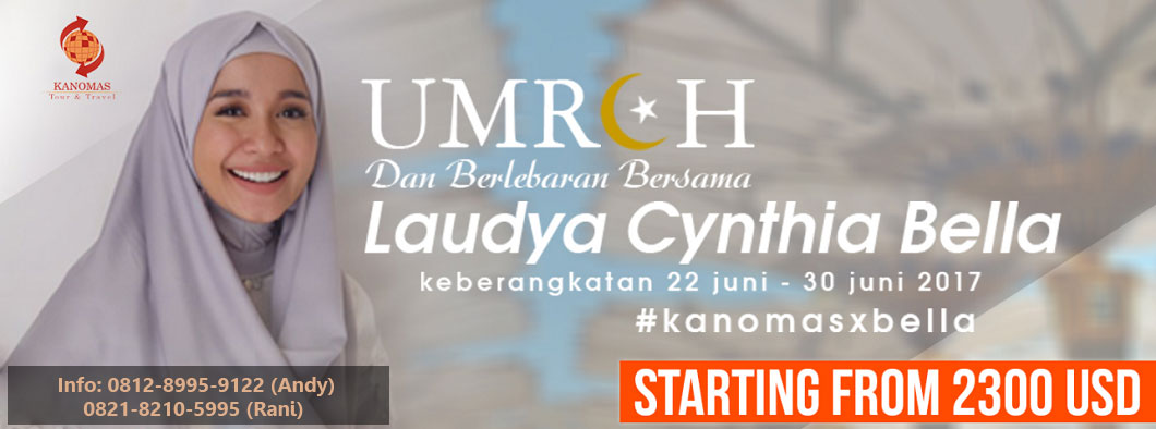 Paket Umroh Ramadhan 2017 bersama Laudya Cyntha Bella