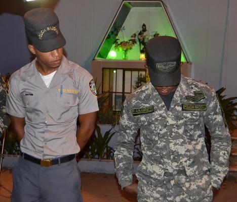"VIDEO-San Juan: Dos Policías, dieron ""tumbe"" a un punto de drogas"