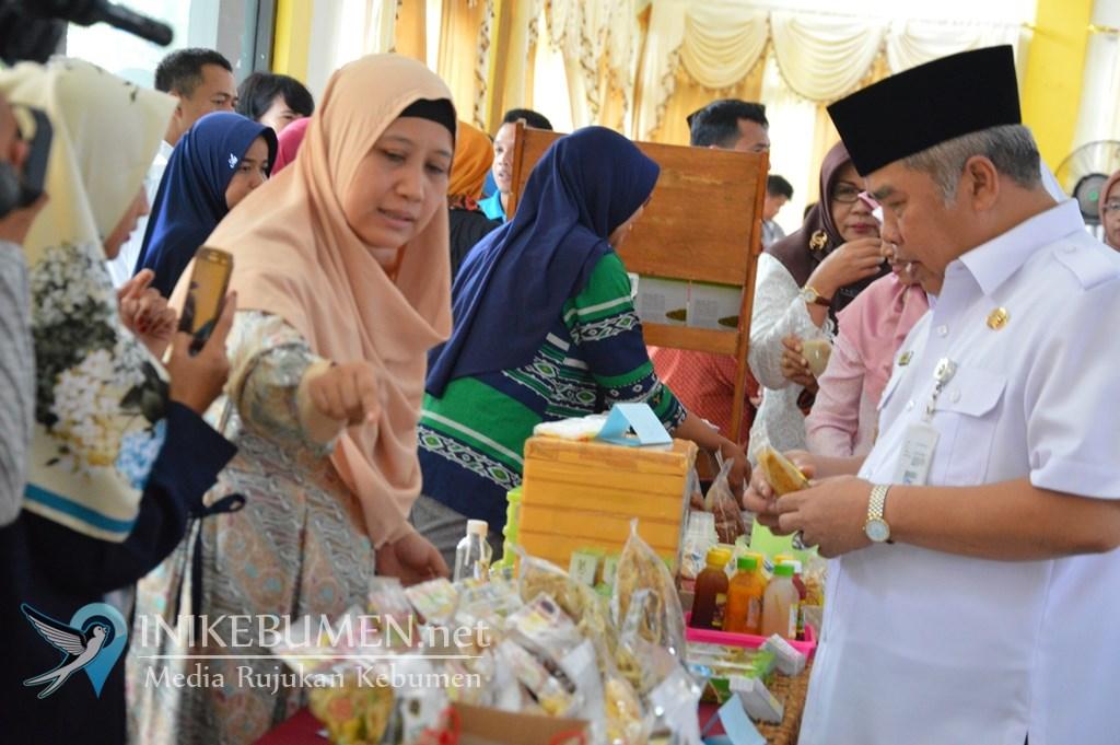 Bazar UMKM Naik Digelar di Gedung PLUT Kebumen