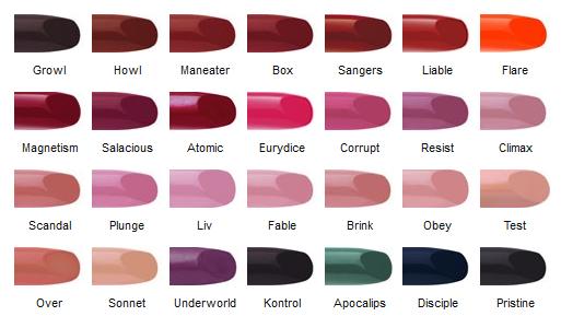 Q80 High Street Best Products Of 2012 Lipsticks