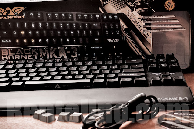 Armaggeddon Black Hornet Keyboard Review