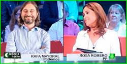 Rafael Mayoral y Rosa Romero