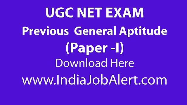 UGC NET Paper 1 Previous years Question Paper || Download Here