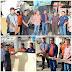 Bersama Wakil Ketua DPRD dan Sekda Sungai Penuh, Ketua DPRD Serahkan Bantuan bagi Korban Kebakaran