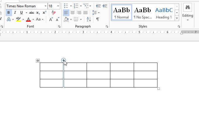 thêm hàng, xóa hàng, thêm cột, xóa cột của bảng trong Word