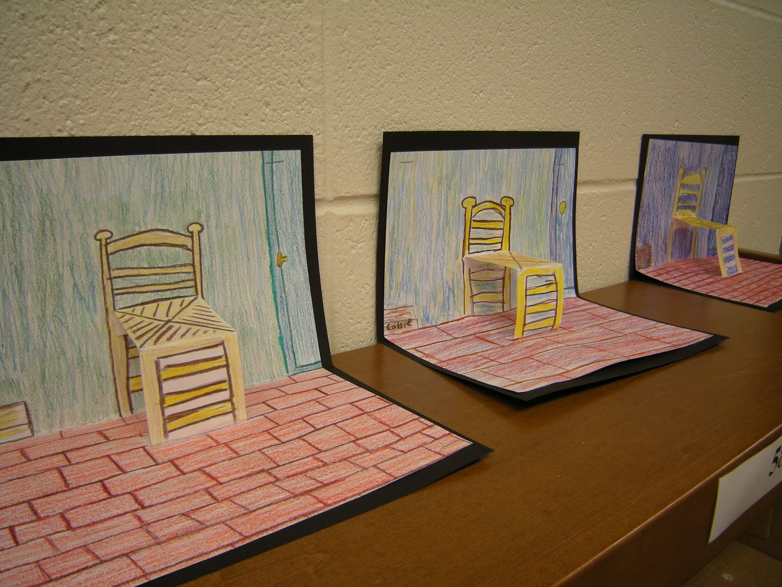 Artolazzi Van Gogh Pop Up Chairs