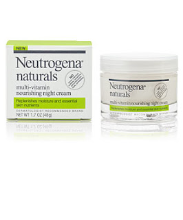 night cream, neutrogena