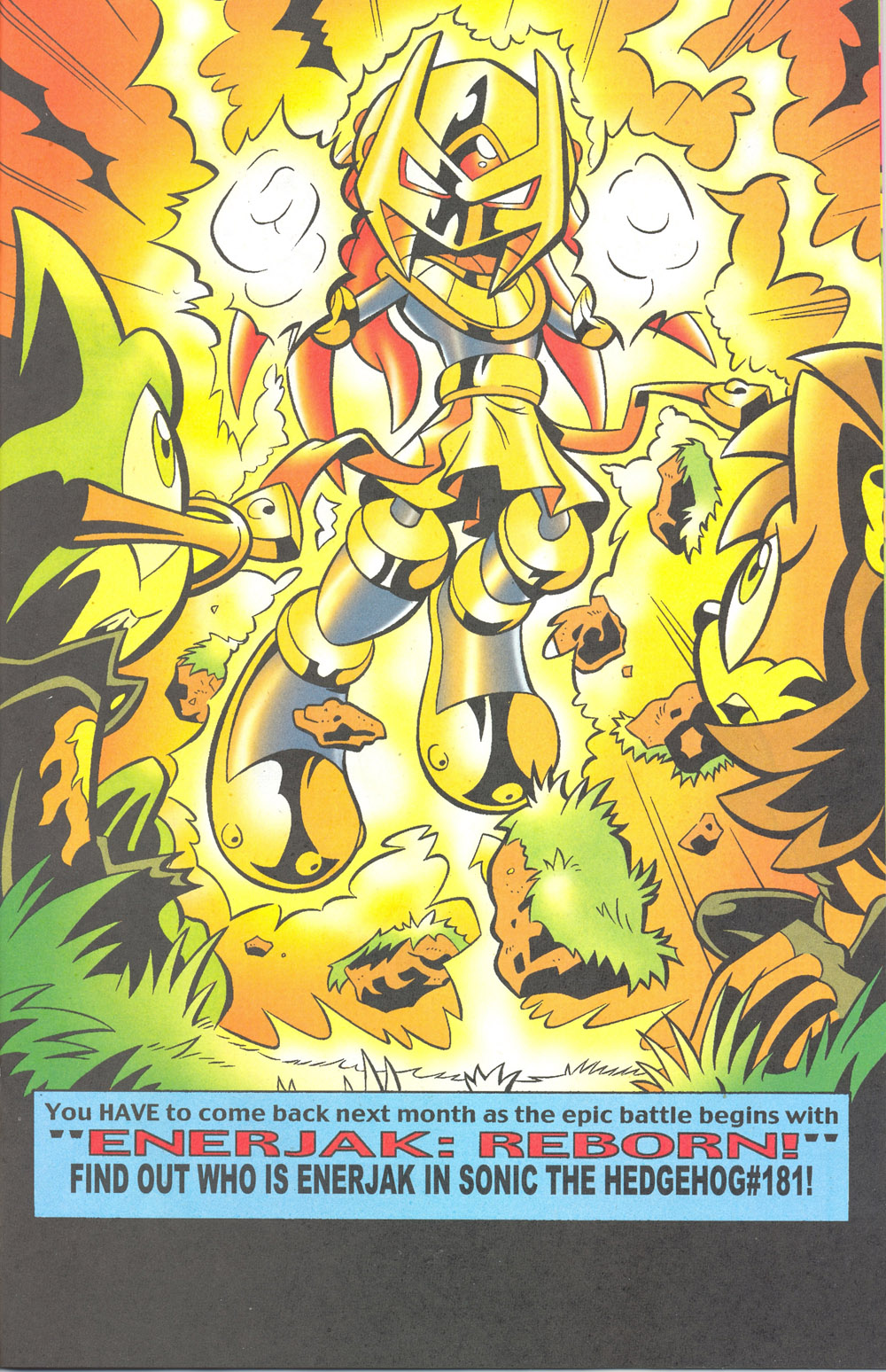 Read online Sonic The Hedgehog comic -  Issue #180 - 18