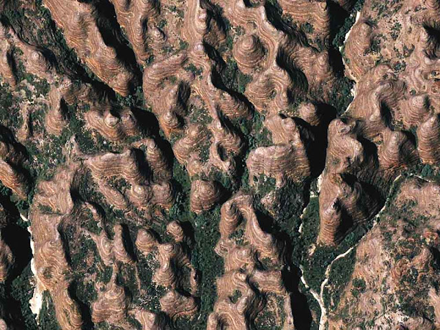 As colinas de arenito de Bungle Bungle – Austrália