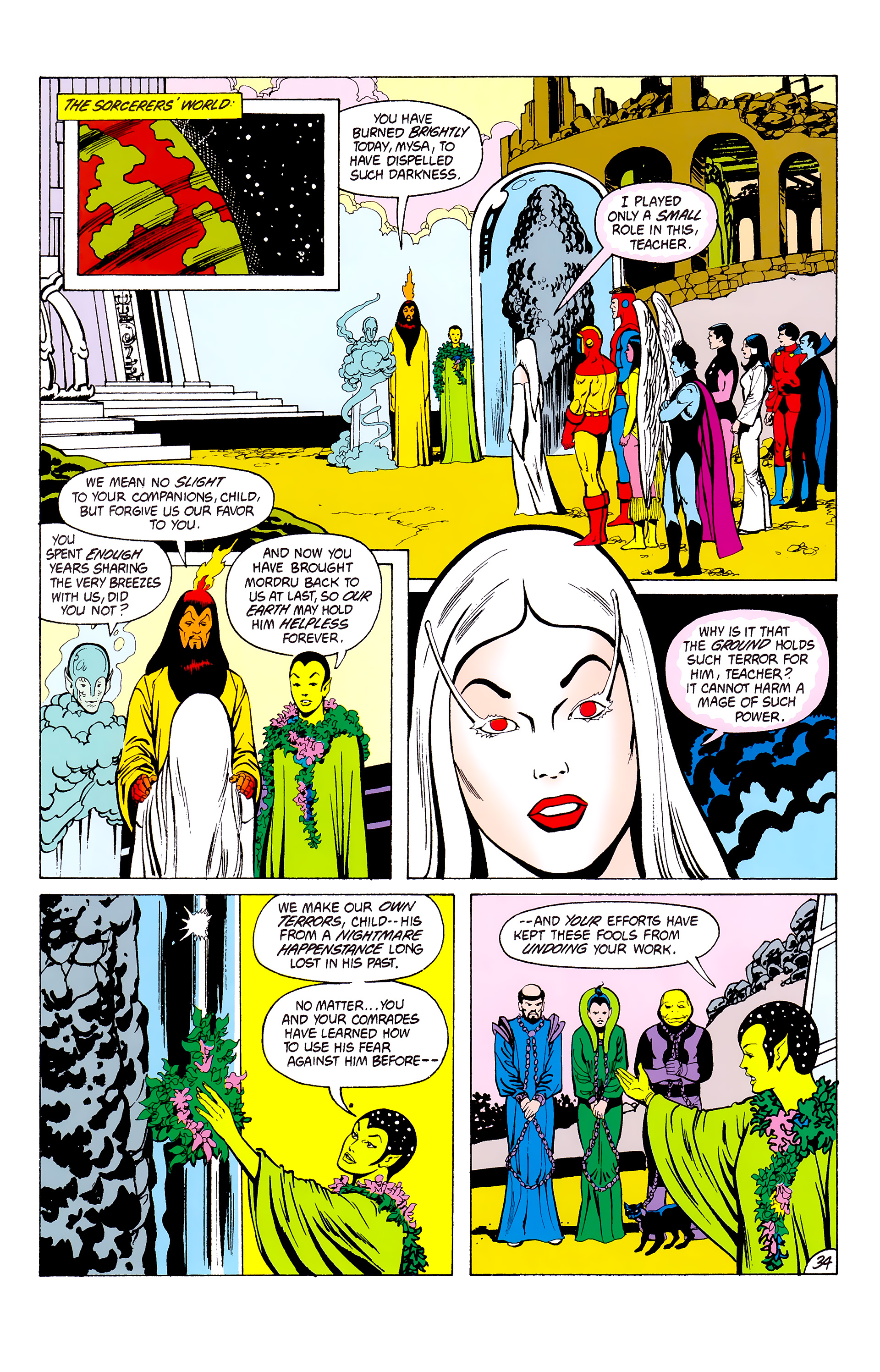 Legion of Super-Heroes (1980) _Annual_3 Page 34