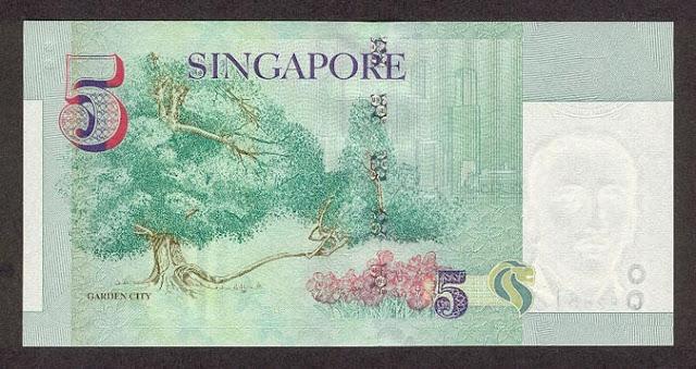Singapore 5 dollars