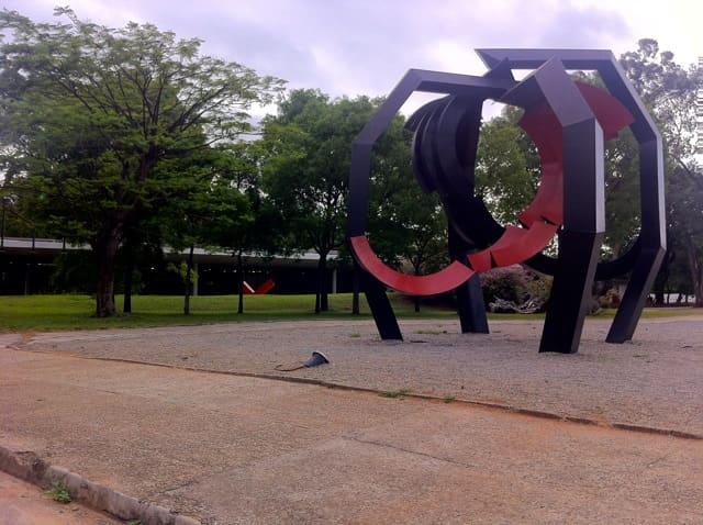 Parque Ibirapuera - Jardim das Esculturas