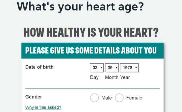 Heartbreak Measured the Age and Examined the Risk of Heart Disease.