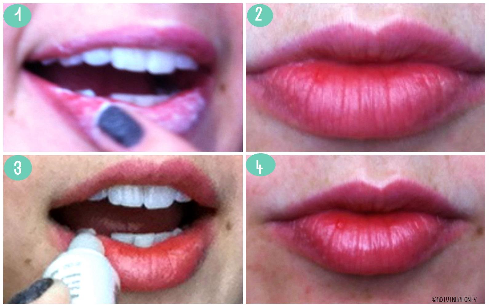 Lábios de seda