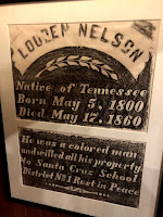 Tombstone of London Nelson