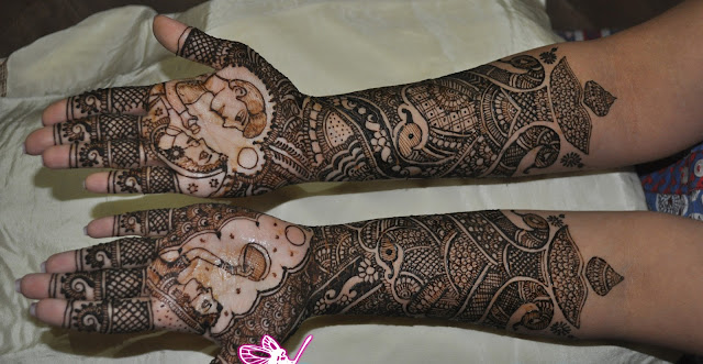 Dulhan Mehndi Design hd