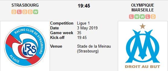 strasbourg vs marseille live
