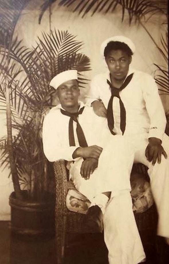 Vintage gay couple black — img 6