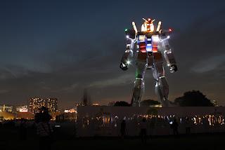 Increíble robot gigante en Japón