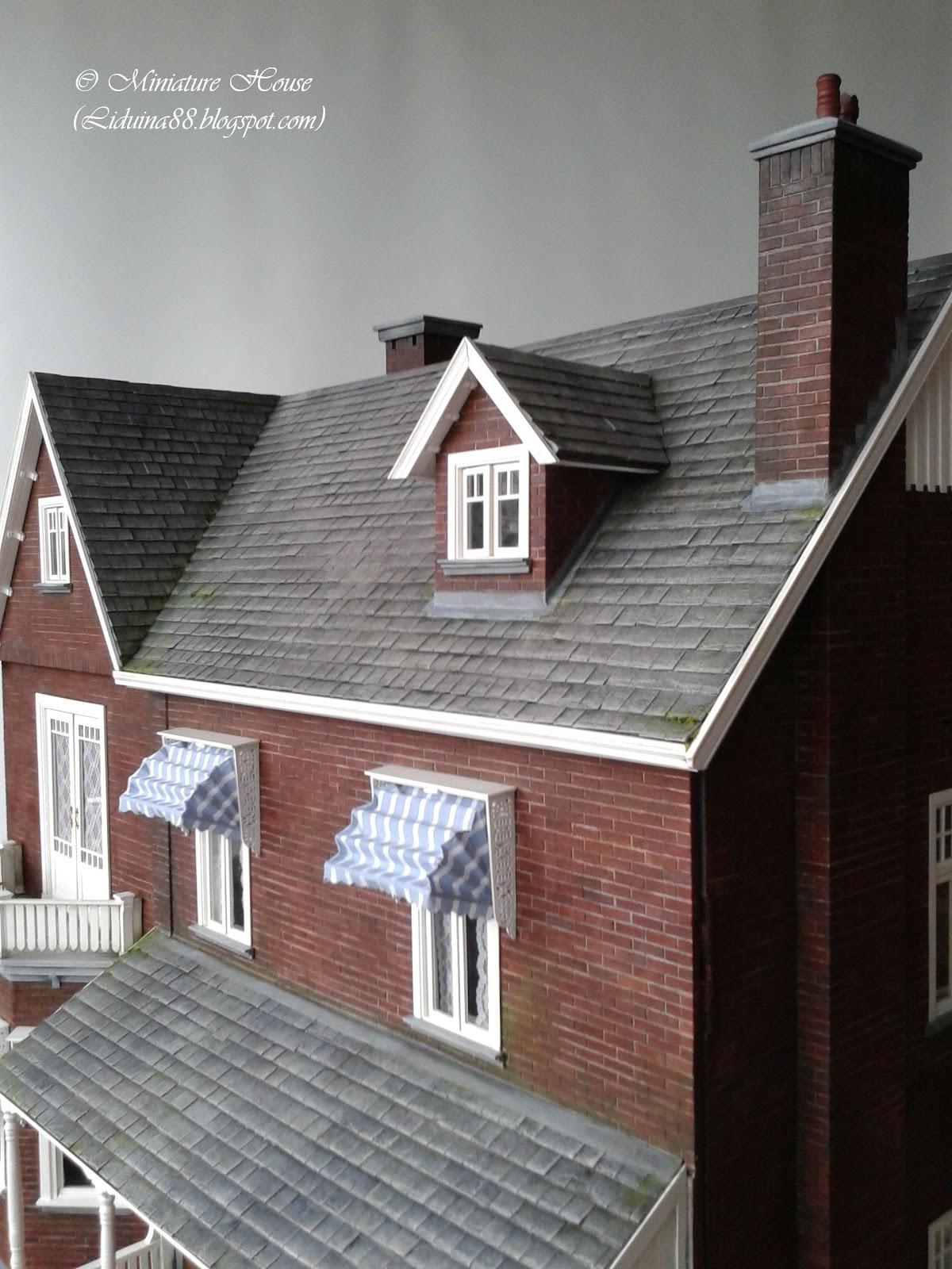 Miniature House Chimneys