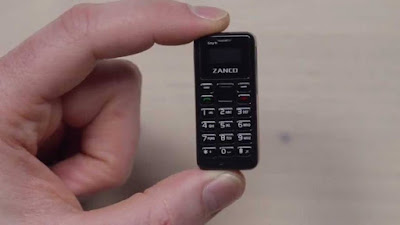 zanco tiny t1 world smallest phone (main tech hub)