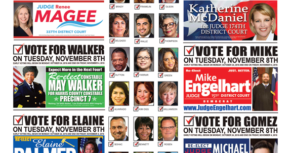 Houston Business Connections Magazine©: Early Voting ...