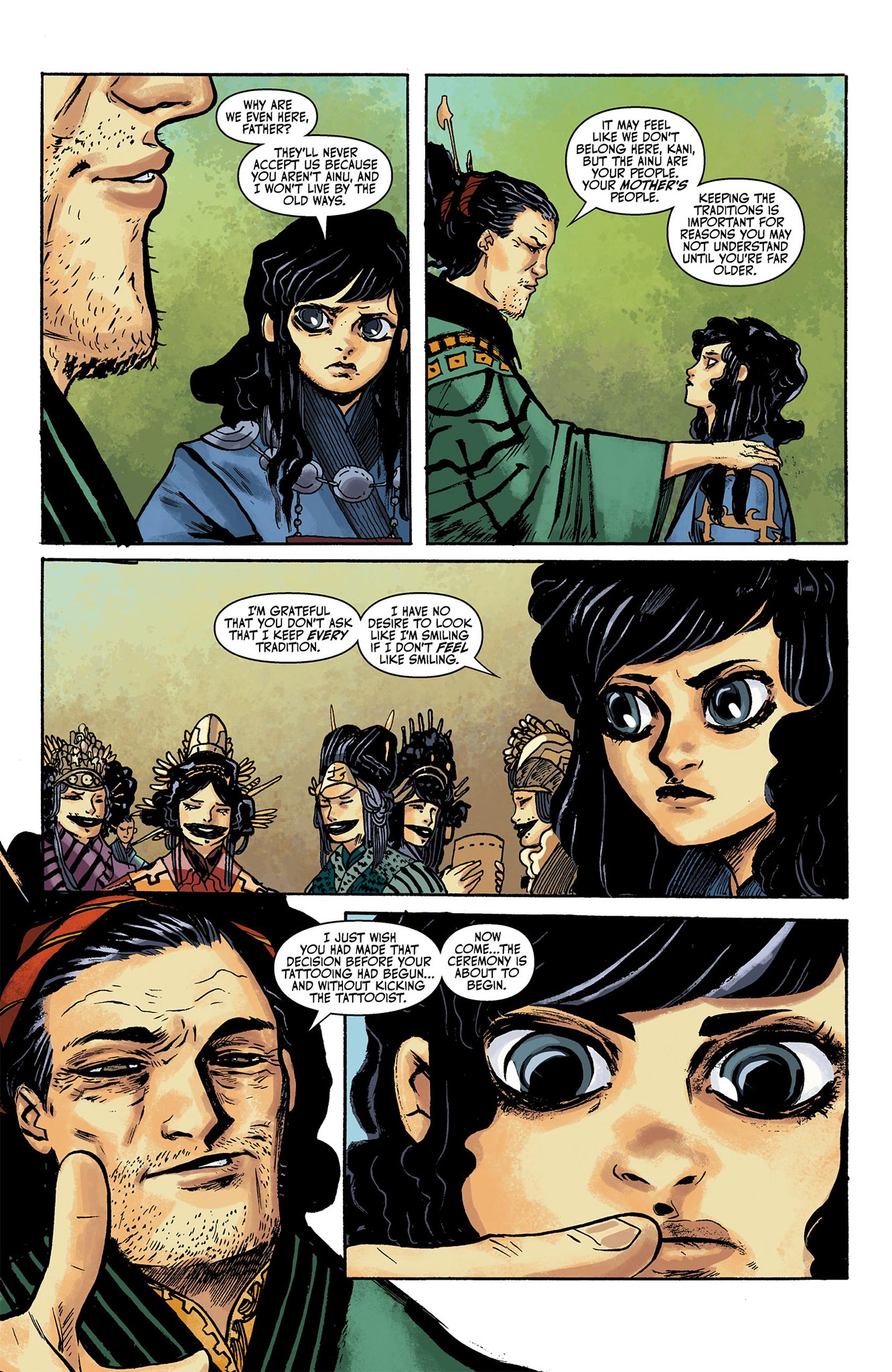 Read online Akaneiro comic -  Issue #1 - 5