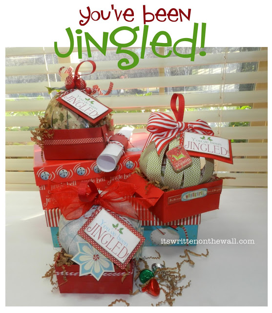 christmas youve been jingled cute way to package treats for neighbor gifts family friends