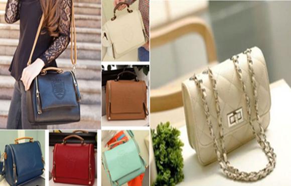 Produtos diversos de qualidade em bolsas