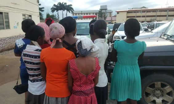 Lagos pastor arrested for harbouring and defiling young girls (photos)
