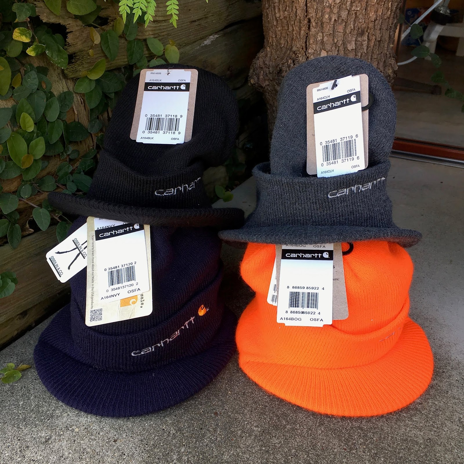 88f4beac CARHARTT : A164 KNIT HAT WITH VISOR   welcoblog