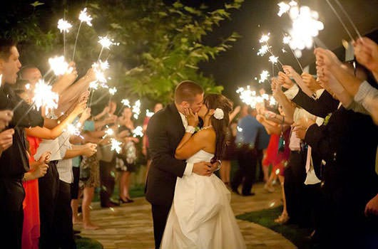 Depending On Your Choice Of Venue And Its Rules With The Use Wedding Sparklers We Can Accommodate A Comfortable Ropriate Size