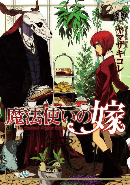 Pierwszy tom mangi Mahoutsukai no Yome