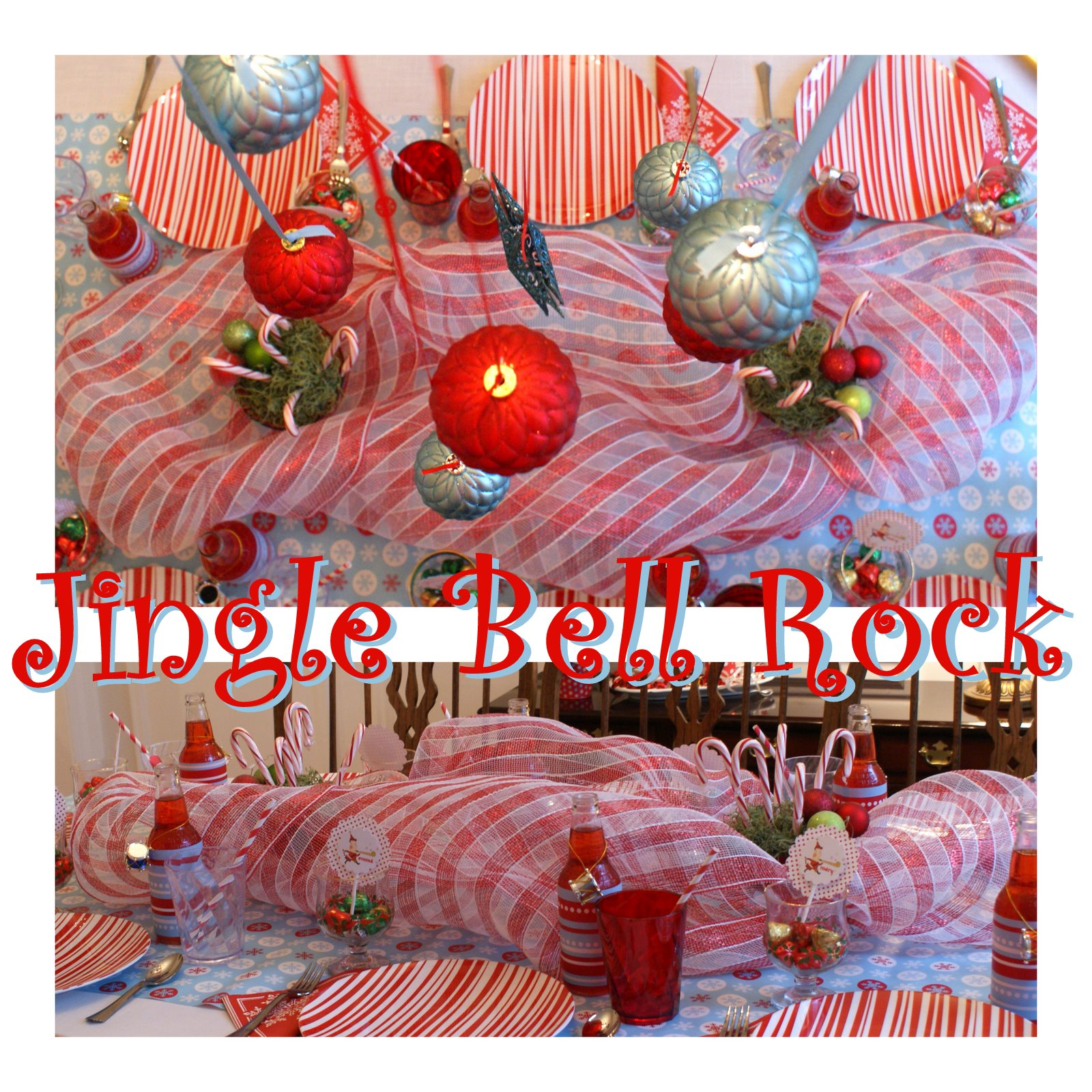 Christmas Party Themes: A Little Loveliness: Jingle Bell Rock Kids Christmas Party