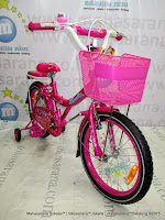 18 Inch Family Magenta Kids Bike