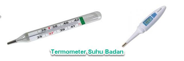 Termometer suhu badan