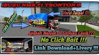 Mod Truck Isuzu Nmr71 Tronton Bussid