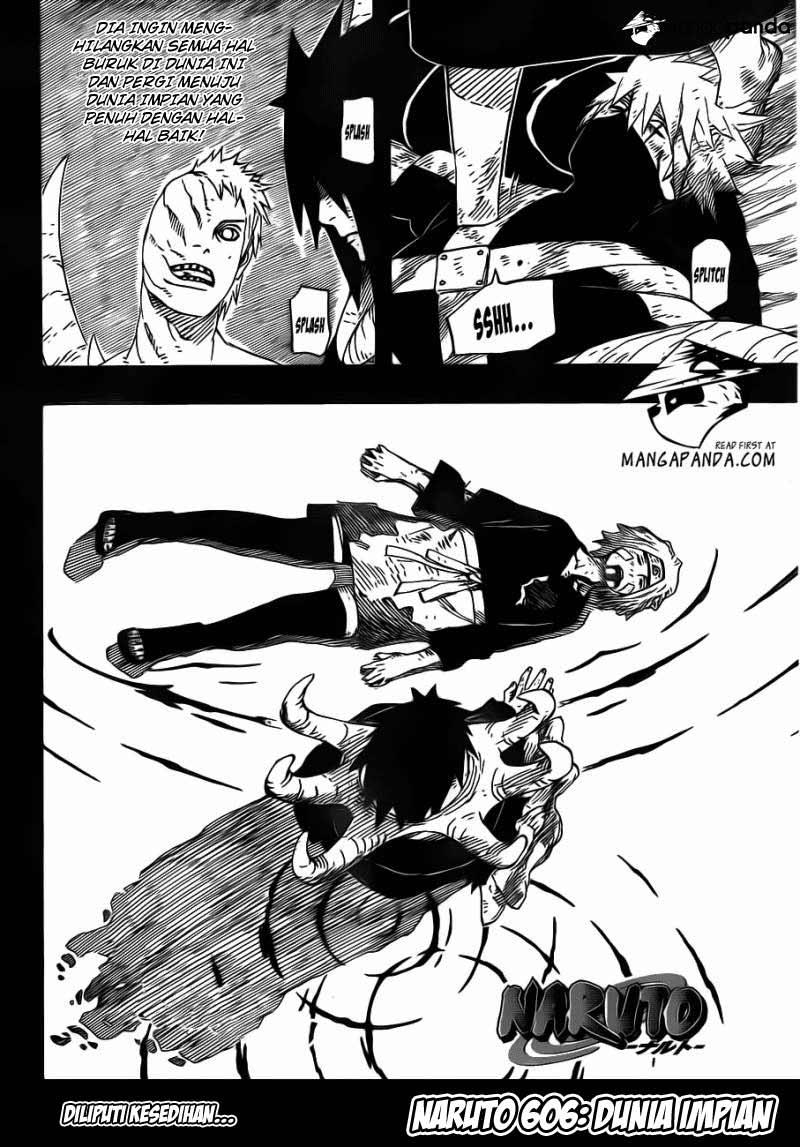 Komik manga Naruto M4I ch606 02 shounen manga naruto