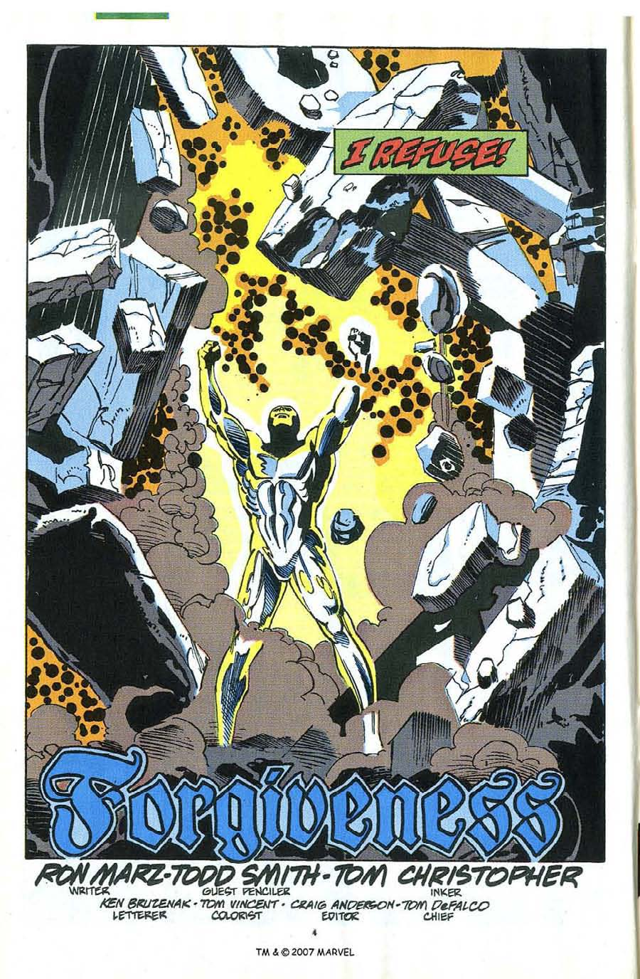 Read online Silver Surfer (1987) comic -  Issue #58 - 6