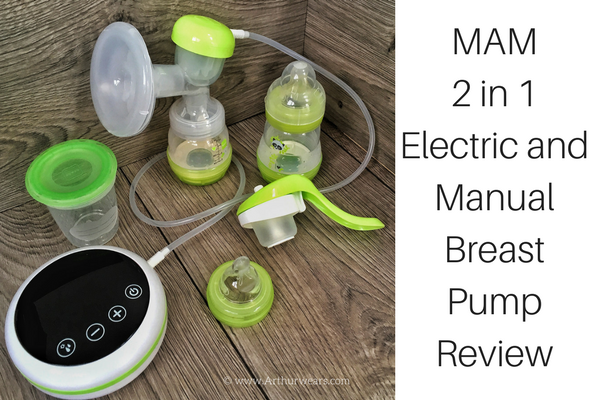 MAM 2 in 1 electric and manual breast pump review